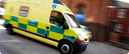The Accident and Emergency department at UHB