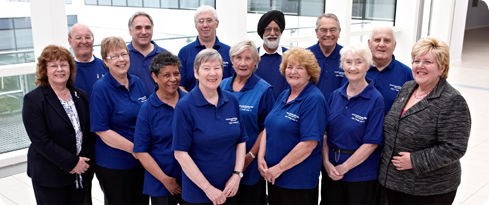 Volunteers at UHB